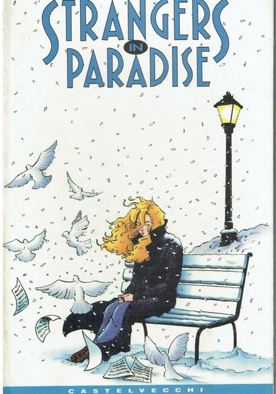 Cover image of Strangers in paradise (ITA), black&white