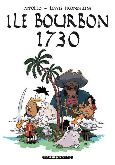 Cover image of Île Bourbon 1730, black&white
