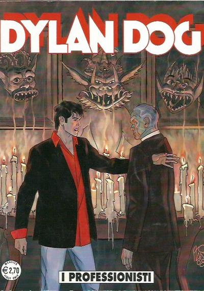 Cover image of Dylan Dog #269, black&white