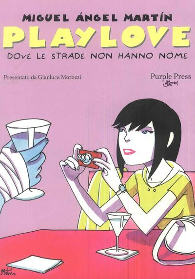 Cover image of Playlove - Dove le strade non hanno nome, black&white