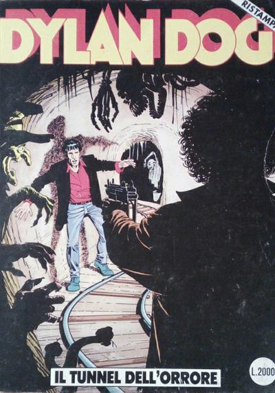 Cover image of Dylan Dog #22, black&white
