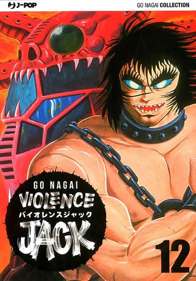 Cover image of Violence Jack #12 (ITA), black&white