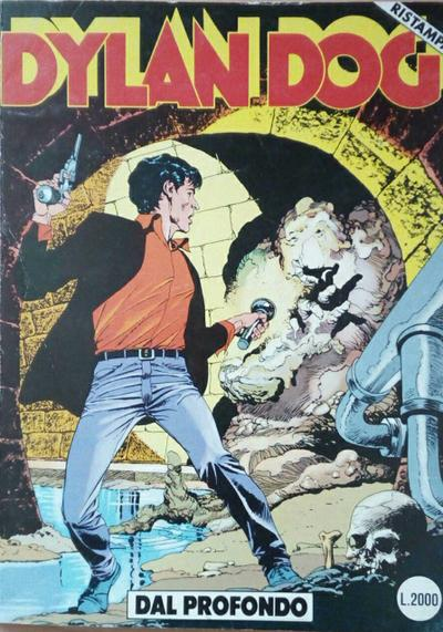 Cover image of Dylan Dog #20, black&white