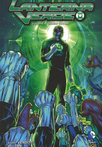Cover image of Lanterna Verde Giorni Oscuri  #4, color