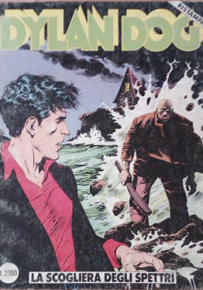 Cover image of Dylan Dog #35, black&white