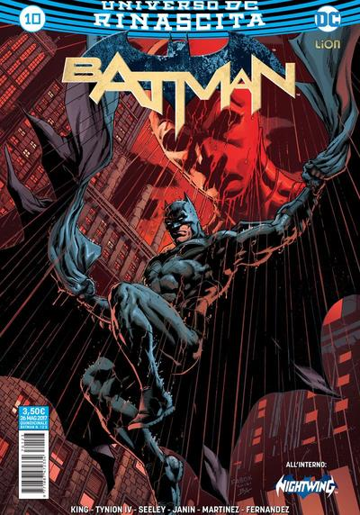 Cover image of Batman Rinascita #10, color