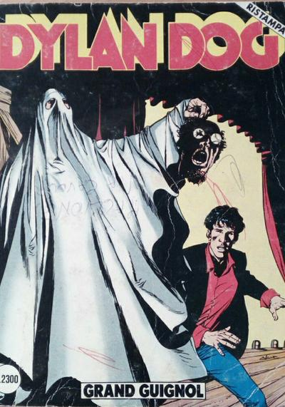 Cover image of Dylan Dog #31, black&white