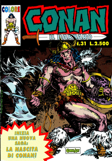 Cover image of Conan il Barbaro #31 (Comic Art), color