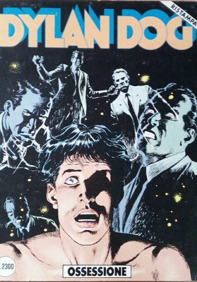 Cover image of Dylan Dog #32, black&white