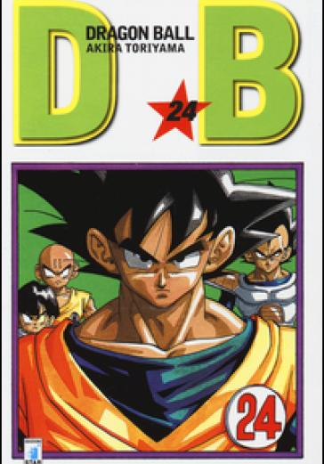 Cover image of Dragon Ball. Evergreen edition: 24, black&white