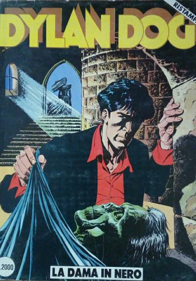 Cover image of Dylan Dog #17, black&white