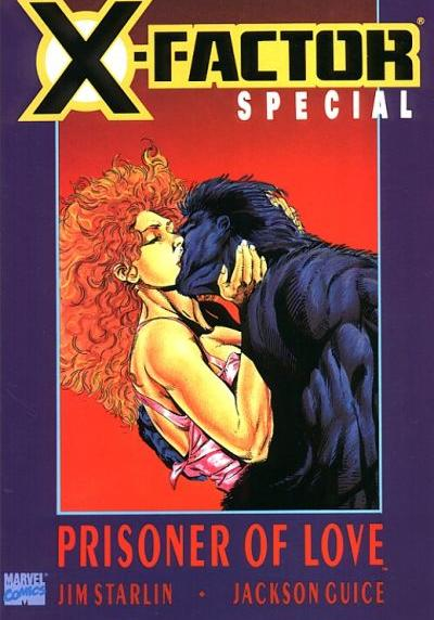 Cover image of X-Factor: Prisoner of Love, color