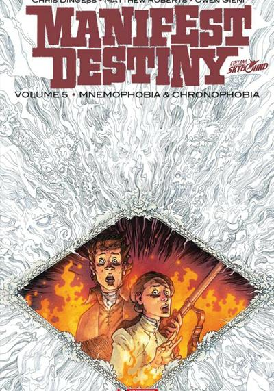 Cover image of Manifest Destiny vol.5 - Mnemophobia e chronophobia (ITA), color