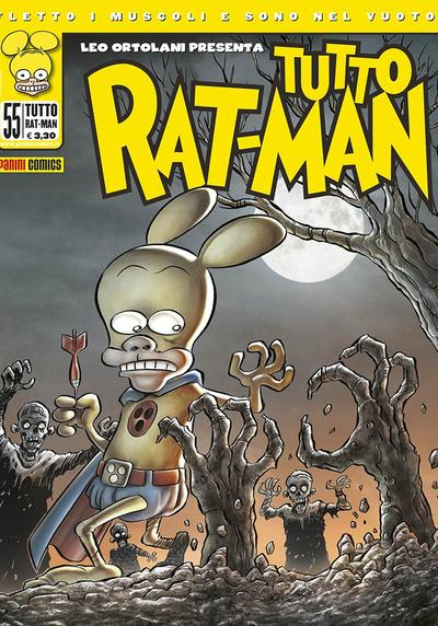 Cover image of Tutto Rat-Man #55, black&white