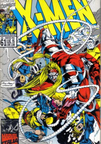 Cover image of Gli Incredibili X-Men #61, color