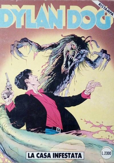 Cover image of Dylan Dog #30, black&white
