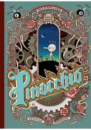 Cover image of Pinocchio, color