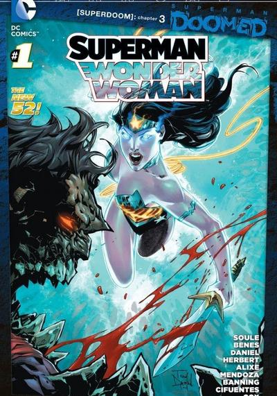Cover image of Superman/Wonder Woman #1, color