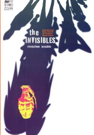 Cover image of The Invisibles vol. 1, color