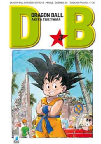 Cover image of Dragon Ball. Evergreen edition: 3, black&white