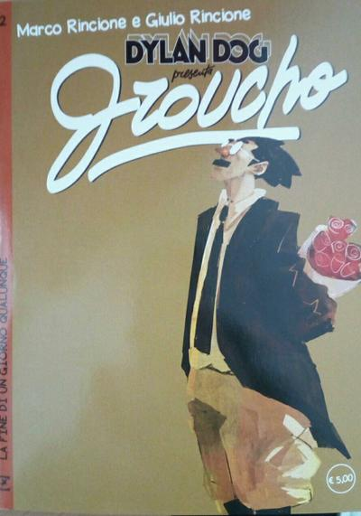 Cover image of Dylan Dog presenta Groucho #12, color