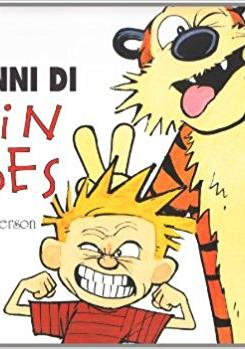 Cover image of Dieci anni di Calvin and Hobbes, color