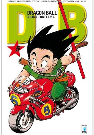 Cover image of Dragon Ball. Evergreen edition: 5, black&white
