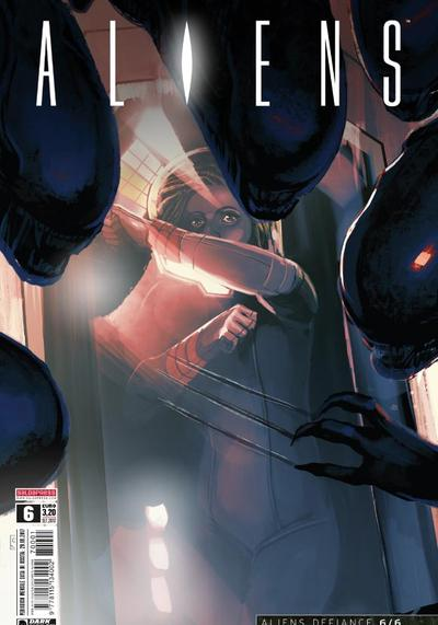 Cover image of Aliens #6, color