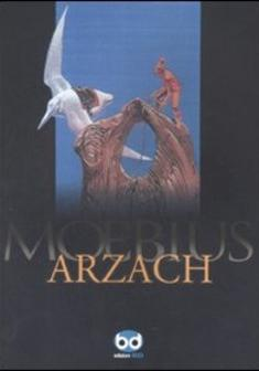 Cover image of Arzach, color