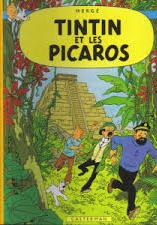Cover image of Tintin et les Picaros, color