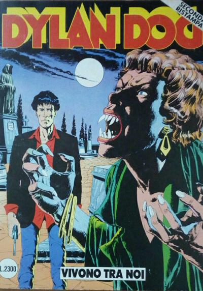 Cover image of Dylan Dog #13, black&white