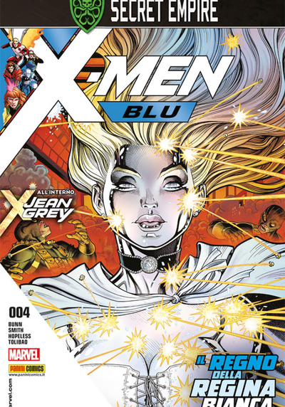 Cover image of X-Men Blu #4, color