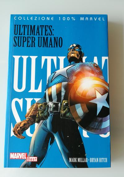Cover image of Ultimates: Super Umano, color