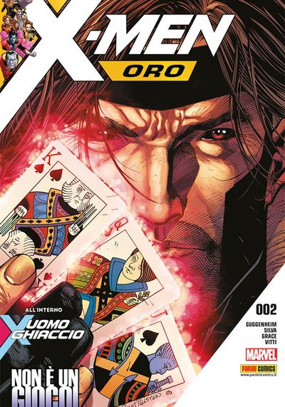 Cover image of X-Men Oro #2, color