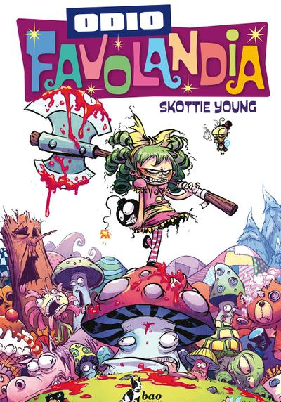 Cover image of Odio Favolandia, color