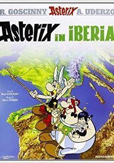 Cover image of Asterix in Iberia, color