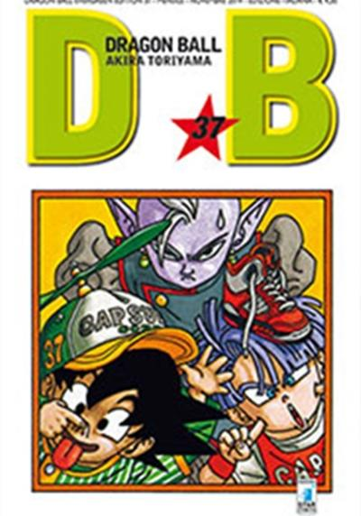 Cover image of Dragon Ball. Evergreen edition: 37, black&white
