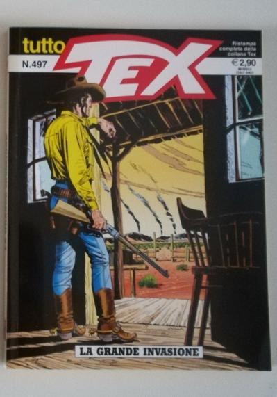 Cover image of Tutto Tex n.497, black&white