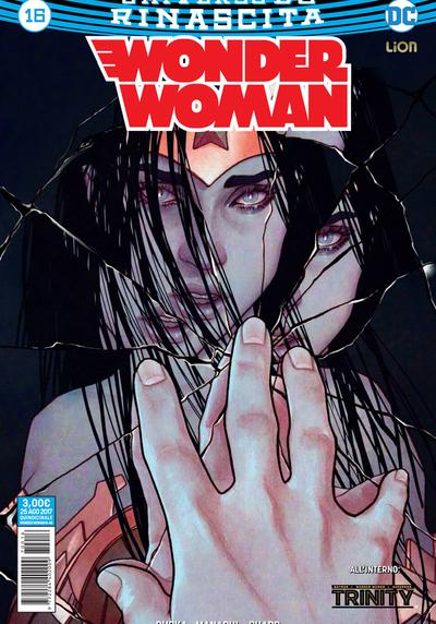 Cover image of Wonder Woman Rinascita #16, color