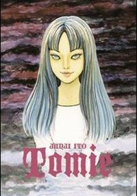 Cover image of Tomie, black&white
