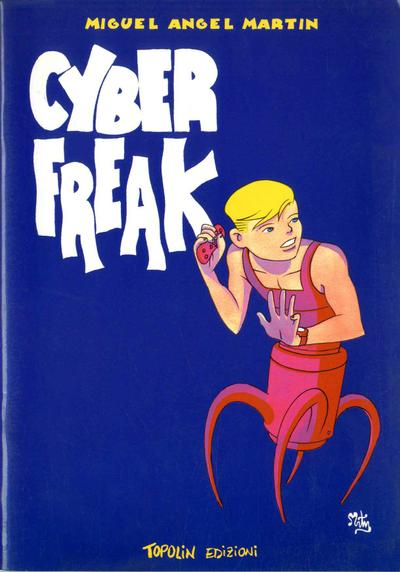 Cover image of Cyber Freak, black&white