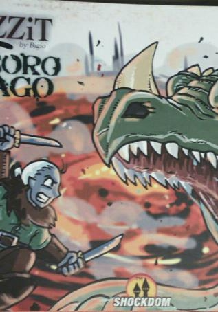 Cover image of Drizzit e il tesoro del drago, color