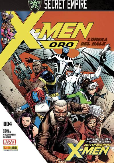 Cover image of X-Men Oro #4, color