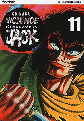 Cover image of Violence Jack #11 (ITA), black&white