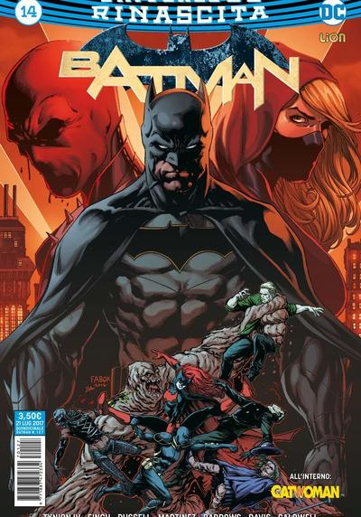 Cover image of Batman Rinascita #14, color