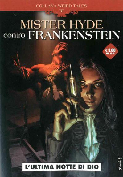 Cover image of Mister Hyde contro Frankenstein, black&white