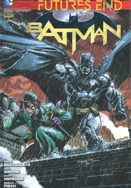 Cover image of Futures end: Batman - Volume 1 (ITA), color