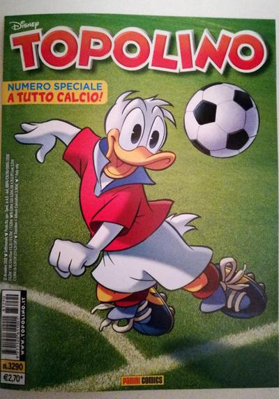 Cover image of Topolino n. 3290 - 12 dicembre 2018, color