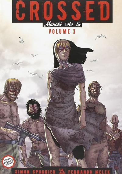 Cover image of Crossed - Manchi solo tu #3, color