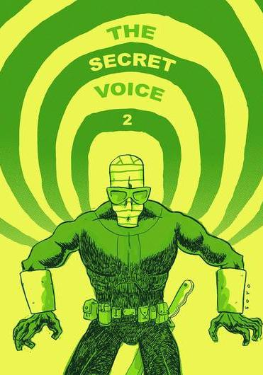 Cover image of The secret voice #2, color